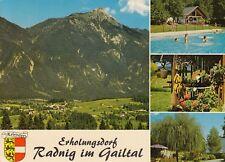 Alte Postkarte - Erholungsdorf Radnig im Gailtal