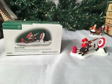 NEW DEPARTMENT 56 NORTH POLE SERIES RESCUE READY #56.56804 ACCESSORY
