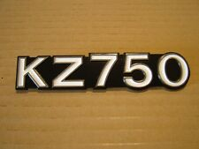 KAWASAKI KZ750 E1 - E3,   SIDE COVER BADGE NEW REPRODUCTION