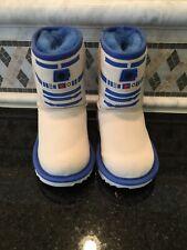 NWOB Kids Boys Star Wars Classic II R2-D2 Boots- Size 7- #1095134T