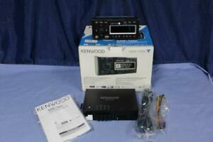 Kenwood KMR-700U Marine Indash Stereo USB FM/AM iPod 200 Watts for Boats Display