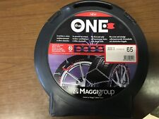 Catene neve per autovetture MAGGI THE ONE 195//60 R15 9mm autotensionanti zincata