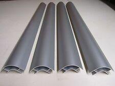 4 x 800 mm Aluminium Corner Profiles for 15mm furniture in Campervans.
