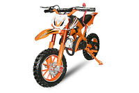 TOPPREIS 49cc Apollo Dirtbike 10Zoll Crossbike Pocket Minicross Motorcross 49ccm