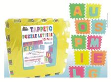 Tappeto puzzle spugna multifunzione lettere gioco costruzione morbido 10 29X29