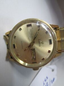 Vintage Zodiac Automatic SST 36000 Running Watch with Day/Date