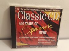 Classic CD: 500 Years of Spanish Music (CD, Classic Disc of the Month)