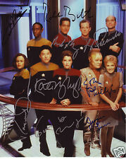 Star Trek Voyager Cast Autograph Signed PP Photo Poster