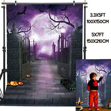Us Halloween Door Backdrop Studio Photography Photo Picture Background Cloth