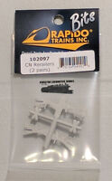 HO Rapido Bits 102097 - CN Rerailers (Qty 4 - 2 Styles, 1 Pair Each)