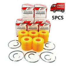 5pcs For Toyota Auris Corolla Yaris Prius C-HR Avensis Oil Filter 04152-YZZA6
