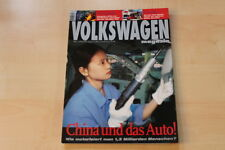71002) VW - 25 Jahre Golf I - Volkswagen Magazin 08/1999