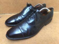 Allen Edmonds Park Avenue Black Cap Toe Balmoral Men's Size USA 11 D Uk 10