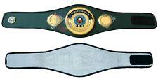CHAMPS IBO Boxing Championship Belt Adult Size Metal Brass Plates