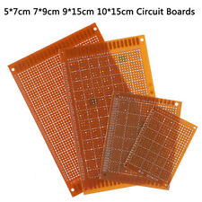 5Pcs Prototype Printed PCB Circuit Board Strip Breadboard For DIY Solder Hq