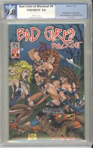 BAD GIRLS OF BLACKOUT # 0 9.8 WHITE PAGES PGX 1995