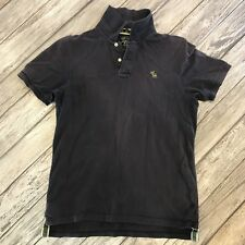 Men's Abercrombie Navy Polo Size L