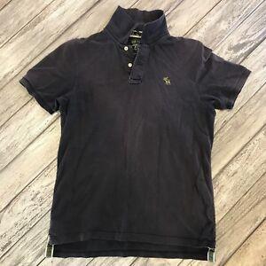 Men's Abercrombie Navy Polo Size L