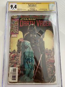 Darth Vader #1 Variant 1:50 X-Men 145 Homage Cover CGC 9.4 SS BROOKS