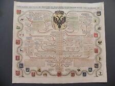 Chatelain Genealogie Czars Moscovie Russia araldica russa heraldry 1720 original