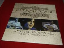 Jackson Browne:   Where The Shadows Fall  Live  2013  NEW SEALED   LP