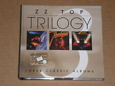 ZZ TOP - TRILOGY: THREE CLASSIC ALBUMS - BOX 3 CD COME NUOVO (MINT)