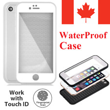 For iPhone Case - 360 Waterproof Underwater Rubber Protective Full TPU Cover