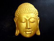 Buddha Kopf Lavastein Asien In- Outdoor Tempel Wand Dekoration Geschenk TOP