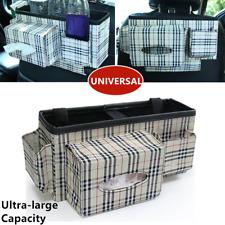 Universal Auto Car Organizer Trunk Rear Back Seat Storage Bag Store Things Cloth