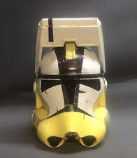 Clone Wars Commander Bly Clone Trooper Helmet 1:1 Scale Fan made Star Wars