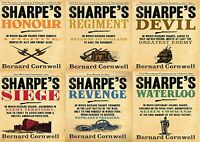 Bernard Cornwell The Sharpe Series 16 to 21 Books Collection Set of 6 Books