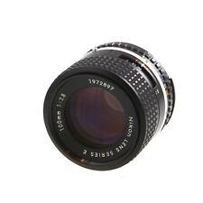 Nikon Nikkor AIS 100mm F/2.8 Series E Manual Focus Lens {52} - UG