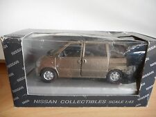 AHC Nissan Serena in Grey on 1:43 in Box