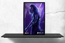 Marvels Avengers Bucky Barnes Infinity War Movie Poster Hanging Wall Decor