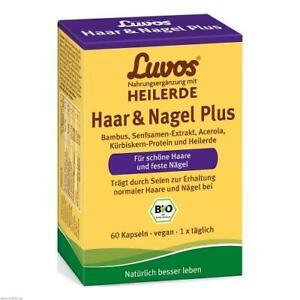 LUVOS Heilerde Bio Haar & Nagel Plus Kapseln 60 St