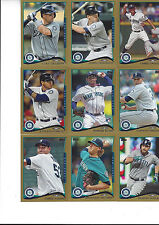 2014 Topps Update Gold #/2014 Kendrys Morales Seattle Mariners US 22
