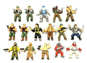 CHOOSE: 1987 Combat Commandos Figurine * Panosh * Combine Shipping!