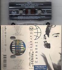 LUCA CARBONI musicassetta originale MADE in ITALY Mondo 1996 K7 MC7 CASSETTA