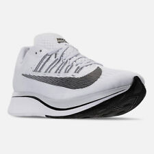 1Men's Nike Zoom Fly Running Shoes White / Black / Platinum Sz 10 880848 100