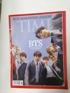 BTS Group Cover Next Generation Leaders Time Magazine [October 22,2018] Cheap