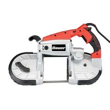 BAUER  10 Amp Deep Cut, Variable Speed,PORTABLE  Band Saw Kit,/ CARRYING CASE