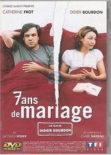 7 ans DE MARIAGE DVD catherine frot didier bourdon jacques webber