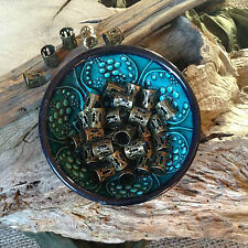 Adjustable Dreadlock Beads 16x BRONZE Steampunk Dread Cuff Wrap Beard Rings UK