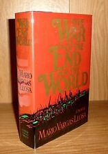 THE WAR OF THE END OF THE WORLD by Mario Vargas Llosa TRU HB 1st!
