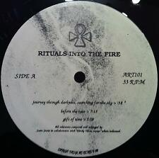 RITUALS INTO THE FIRE journey through darkness LP VG+ Experimental Darkwave MP3