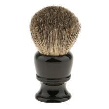 Pure Badger Hair Shaving Brush Resin Handle Shave Tool for Men Black