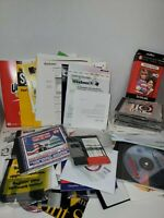 Vintage PC software CDs Lot 90s windows 95 Norton  and more