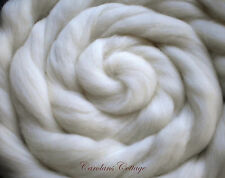 Merino Top Natural White Wool Roving 5 Feet Sample Spinning Felting Dolls Dreads