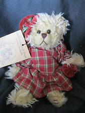 """GLORIA"" The Old English Teddy Bear Co Barbara Bukowski 1990 Stockholm NEW NWT"