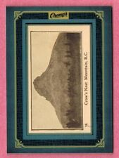 2015-16 Upper Deck Champ's Framed Tobacco Card Crow's Nest Mountain, B.C.
